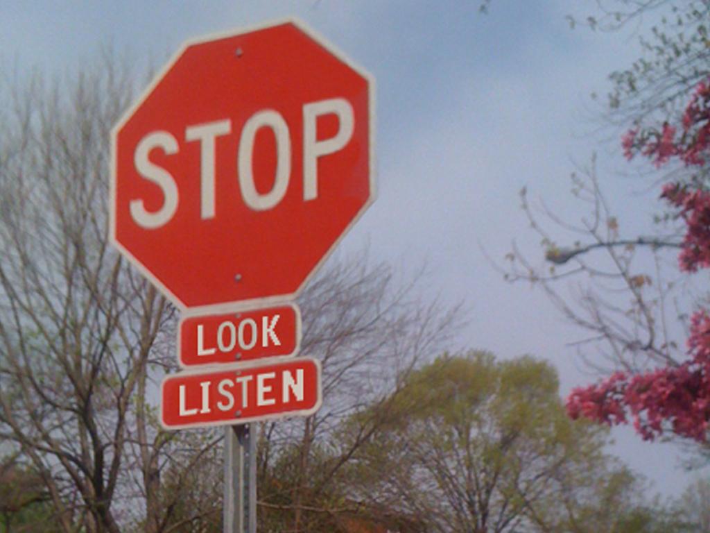 Stop, Look